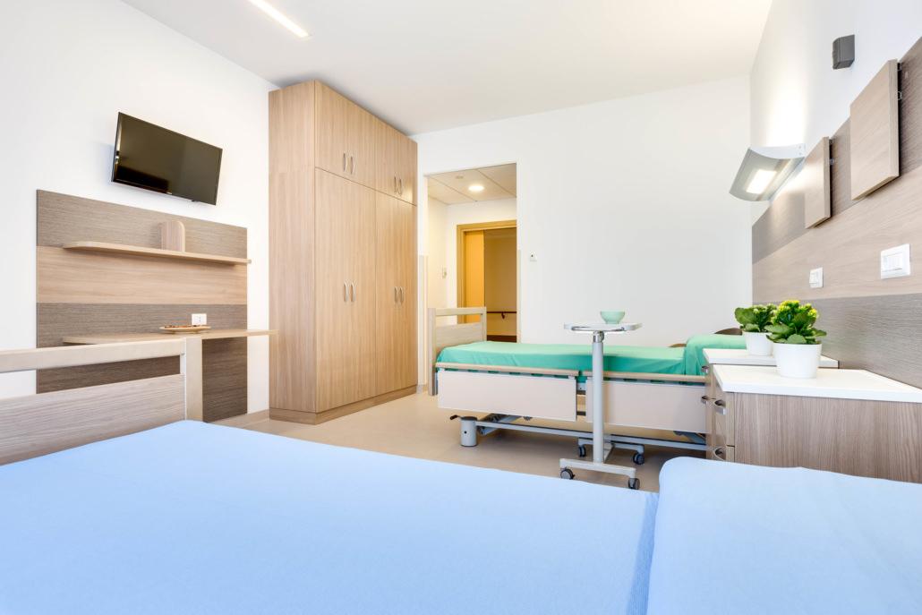 Fotografo Case di Cura e Ospedali
