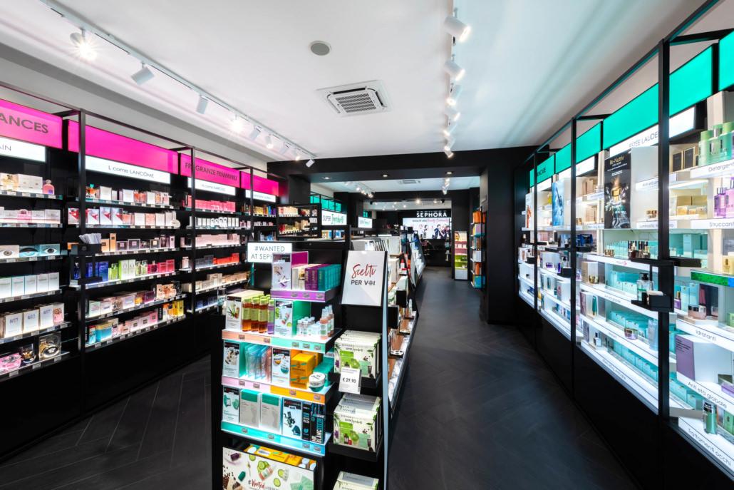 Fotografo Retail Store Sephora