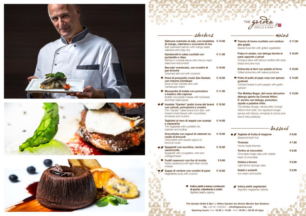 Fotografo Chef Menu Hotel Hilton Garden Inn Mestre Venezia 027