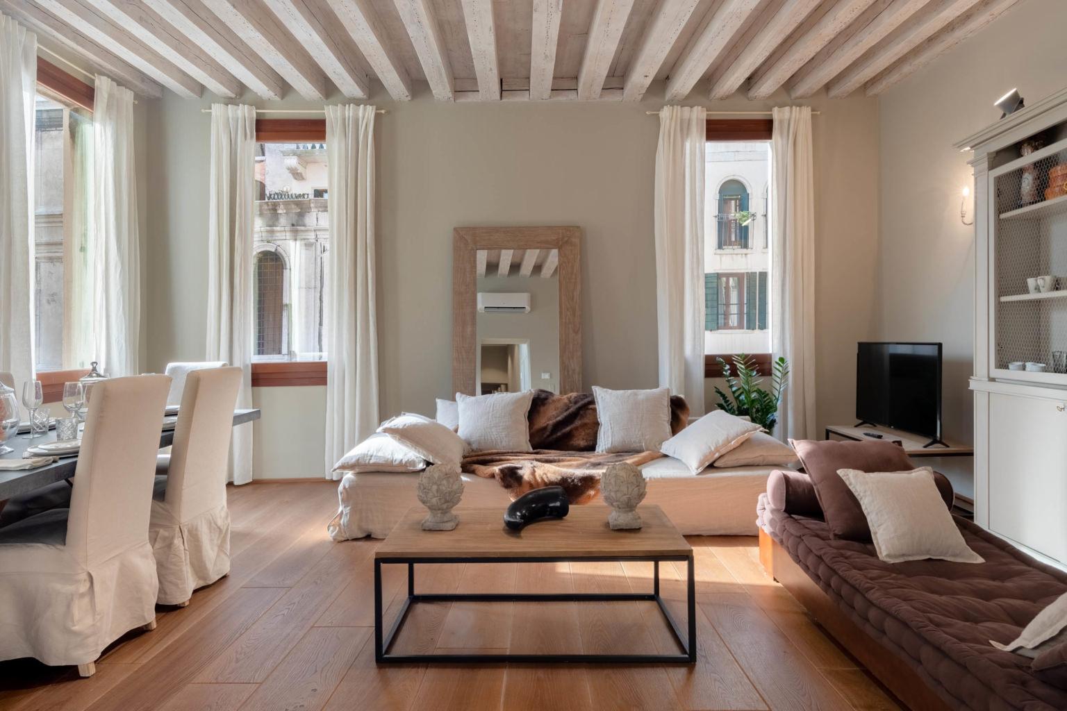 Fotografo Appartamento a Venezia con Vista sul Ponte dei Sospiri