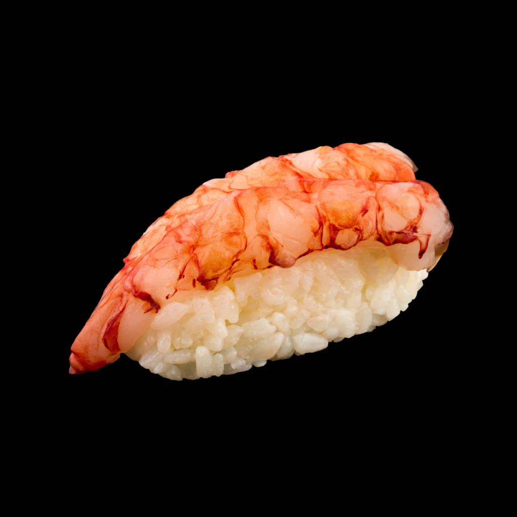 Servizio fotografico Sushi su Fondo Nero treviso